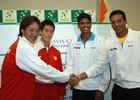 Кубок Дэвиса.Индия - Япония. Бхупати/Бопанна выигрывают пару
