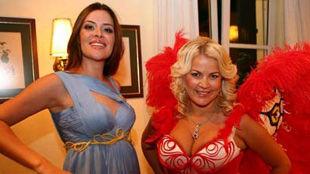 Жены Алиева и Нинковича попробовали себя в роли моделей