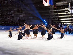 Opera on ice – шоу, объединившее магию музыки и спорт