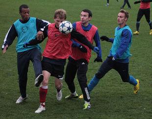 Киевский Арсенал разгромил собственную молодежь