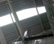 На Тюрк Телеком Арена обвалилась крыша