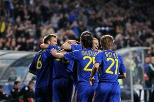 Эстония - Украина - 0:2