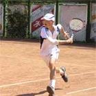 Львівські тенісисти задавали тон змаганням в одиночних розрядах на національній першості до 14 років