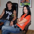 Алексей Гай и его жена ответили на вопросы болельщиков Шахтера +ФОТО