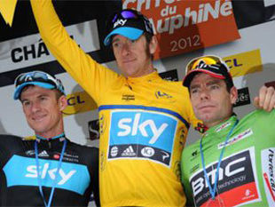 Тур де Франс: Брэдли Уиггинс - победитель 19-го этапа