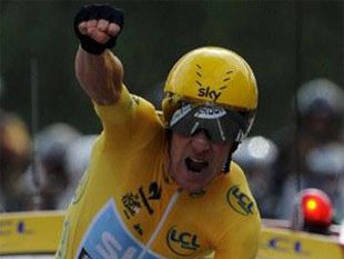 Уиггинс стал победителем Тур де Франс-2012