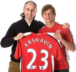 ЛАХТЕР: «Арсенал будет просить за Аршавина около 8 млн евро»