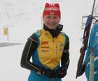 Яна Бондарь выигрывает бронзу Кубка IBU!