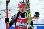 Немка Каролин Хорхлер выигрывает гонку преследования