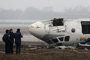 В Донецке разбился самолет с болельщиками: семеро погибших
