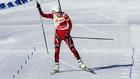 Бергер выигрывает масс-старт, две украинки в десятке