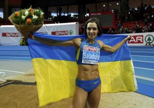 Ольга Саладуха завоевала золото!