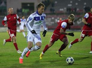 Динамо теряет очки на старте весенней части чемпионата