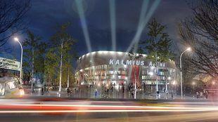 Проект Кальмиус Арены будет представлен 12 марта