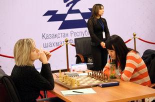 Сборная Украины добыла очередную победу на ЧМ по шахматам