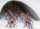 Мужская сборная России триумфально выигрывает эстафету