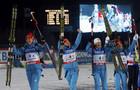 Украина выигрывает серебро в женской эстафете!