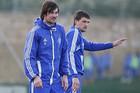 Горан Попов и Артем Милевский тренируются без ограничений