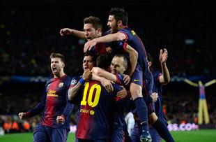 Барселона сметает Милан со своего пути