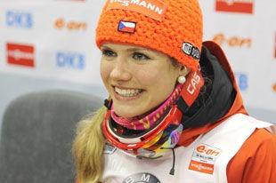 Ханты-Мансийск 2013.Соукалова выигрывает гонку преследования