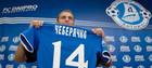 Евгений Чеберячко провел сотый матч в составе Днепра