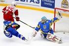 Сборная Украины переиграла чеховский Витязь в серии буллитов