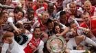 Аякс в третий раз подряд стал чемпионом Голландии