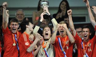 Юношеская сборная России - чемпион Европы