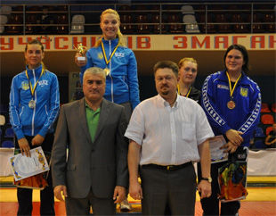 Ольга Харлан отстояла звание чемпионки Украины