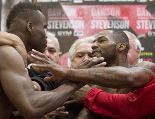 Доусону и Стивенсону не терпится в бой +ВИДЕО