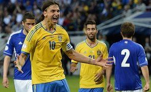 Группа C. Ибрагимович принес Швеции победу над Фарерами
