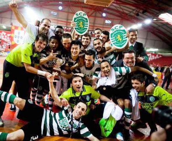 Спортинг выиграл чемпионат Португалии по футзалу + ВИДЕО