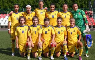 Женская сборная Украины расписала ничью с россиянками