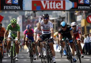 Кавендиш выиграл пятый этап Тур де Франс