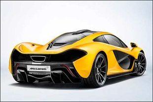 Баттон представил публике McLaren P1