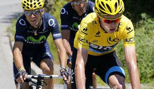 Лидер Тур де Франс оштрафован на 20 секунд