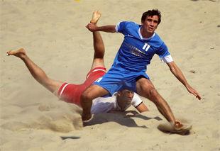 Cразу пять команд поборятся за суперфинал Beachsoccer league