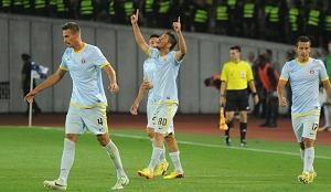 Динамо Тбилиси дома уступает Стяуа