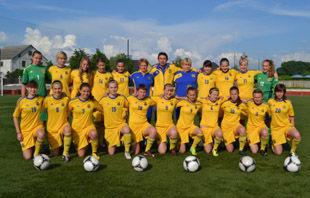 Женская сборная Украины WU17 обыграла Медик