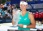 Саманта Стосур стала победительницей туринра в Карлсбаде