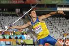 Александр Пятница выигрывает серебро в метании копья!!!