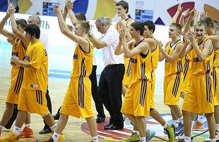 Евробаскет U-16. Украина в упорной борьбе уступила Хорватии
