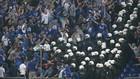 Шальке осудил действия полиции на матче с ПАОКом + ВИДЕО