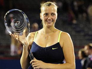 Петра Квитова стала победительницей турнира в Монреале