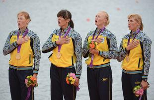 Золотые медалистки Лондона выступят в Киеве