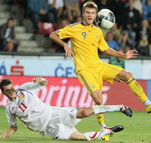 Украина - Чехия - 0:0