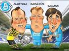 Игроки Днепра стали героями карикатур + ФОТО