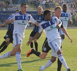 Динамо - Черноморец - 2:0 + ВИДЕО