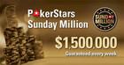 Победа в Sunday Million ушла на Украину