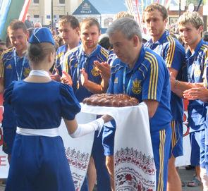 ЮЖД встретила своих героев, героев Украины – чемпионов мира